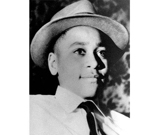 FILE - This undated photo shows Emmett Louis Till, a 14-year-old black Chicago boy, who was kidnapped, tortured and murdered in 1955 after he allegedly whistled at a white woman in Mississippi. The federal government has reopened its investigation into the slaying of Till, the black teenager whose brutal killing in Mississippi helped inspire the civil rights movement more than 60 years ago.