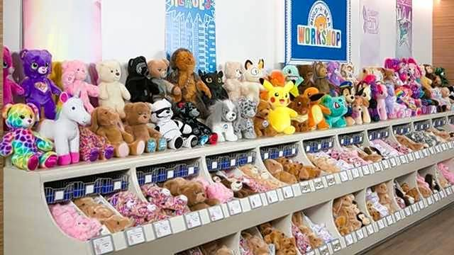Build-A-Bear Workshop is apologizing and offering $15 vouchers following a marketing disaster seen at malls across the country Thursday