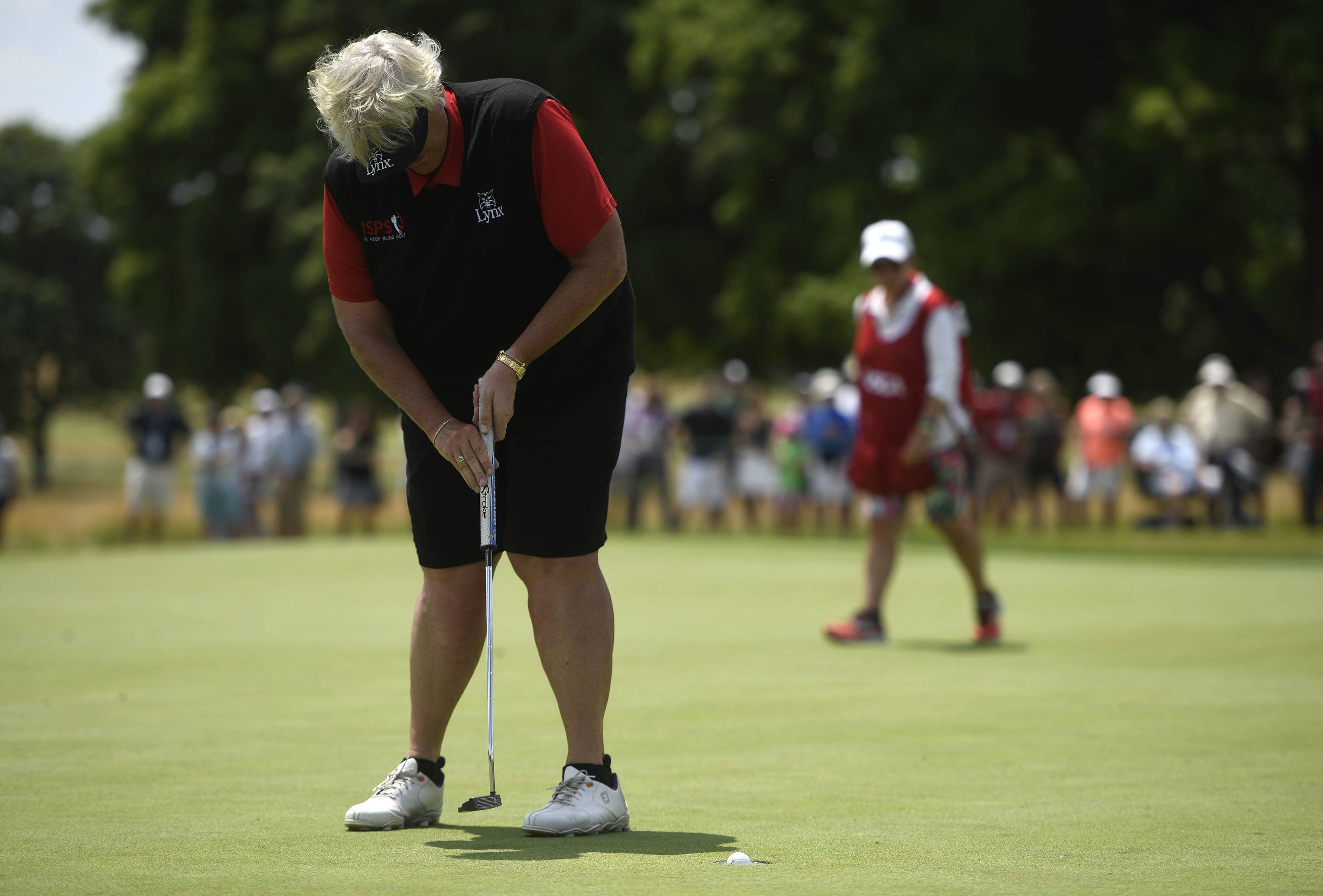 Golfers happy with turnout at Senior Open, look forward to next year