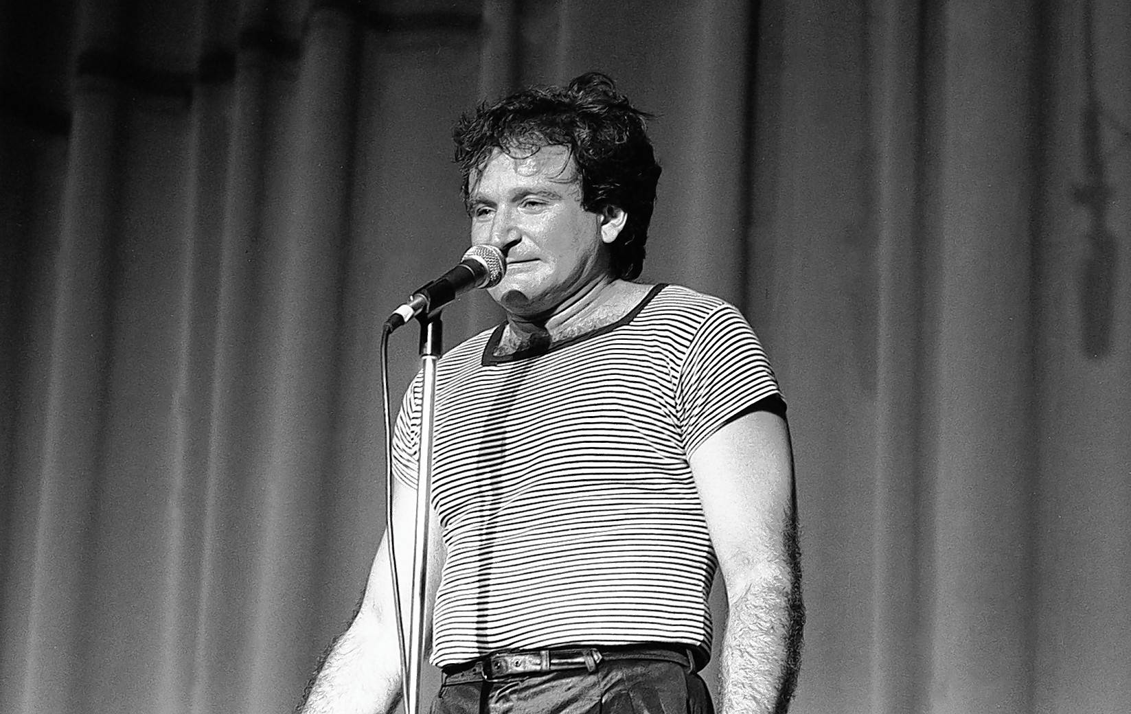Robin Williams, seen here in 1982, is the subject of an HBO documentary airing Monday, July 16.