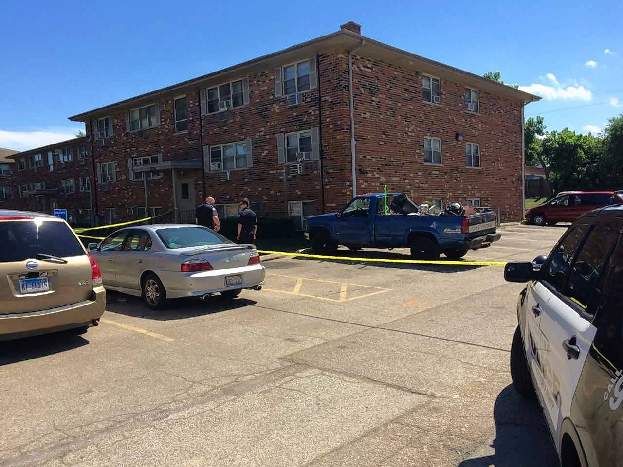 Palatine police were called to an apartment building in the 1700 block of North Rose Avenue Tuesday afternoon in response to a reported shooting. A 19-year-old man was later found shot in the leg, police said.