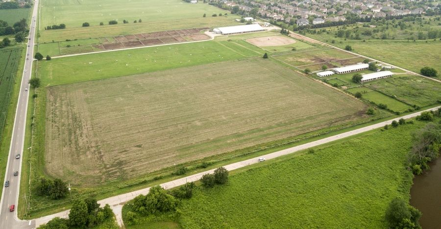 This 110-acre site north of 119th Street and east of Route 59 could be annexed into Naperville as a future subdivision of 702 houses, townhouses and apartments called Polo Club. But the planning and zoning commission was split on the request, forwarding it to the city council with no recommendation.