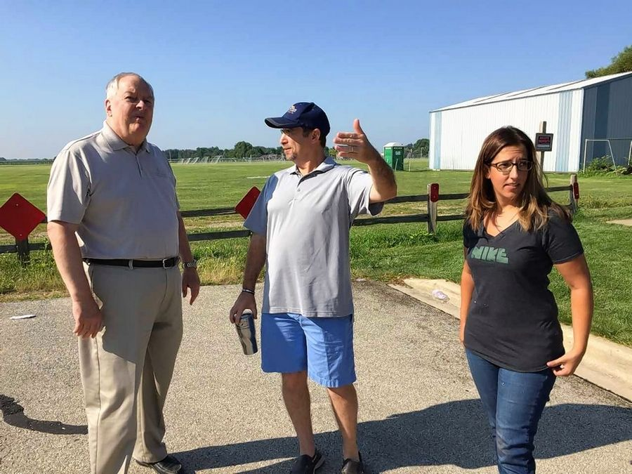 Fred Harms, Jeff Maxick and Beth Quint live in different subdivisions near the site of a proposed development called Polo Club in south Naperville, and they worry about the traffic and safety issues the construction of 702 houses, townhouses and apartments could cause.
