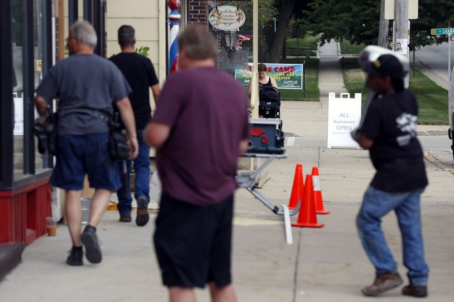 Downtown Elburn goes back to 1955 for backdrop in HBO TV
