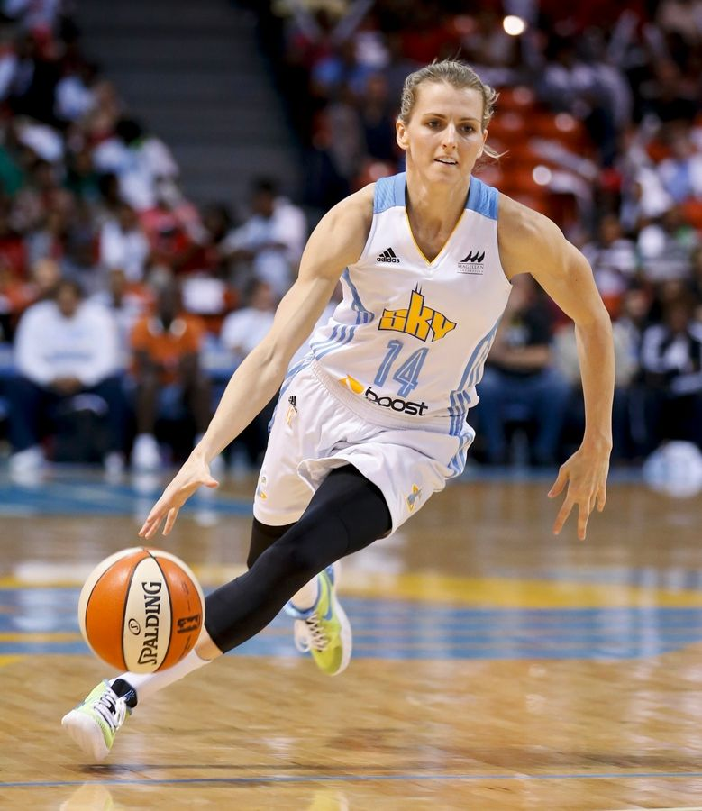 Chicago Sky guard Allie Quigley was frustrated and nearly gave up on her WNBA dream. But she got a call from her hometown team and decided to give it one more try. Two years later, she won her first of two straight WNBA Sixth Woman of the Year awards. A couple of years after that, Quigley earned her first of two straight all-star game nods. Quigley, a native of Joliet and a former star at DePaul, will be playing in her second all-star game next weekend.