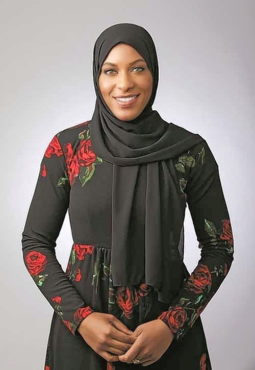"Ibtihaj Muhammad discusses ""Proud"" on Thursday, July 26, at Anderson's Bookshop in Naperville."
