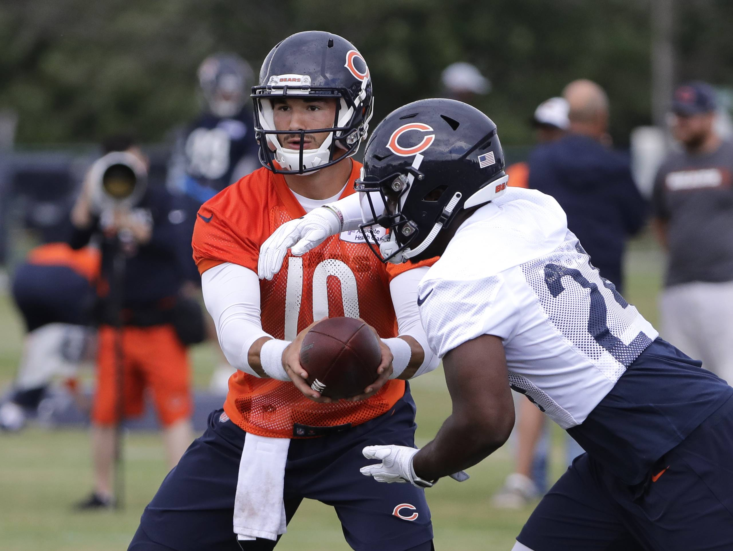 RB Howard will still be big feature of Chicago Bears' offense
