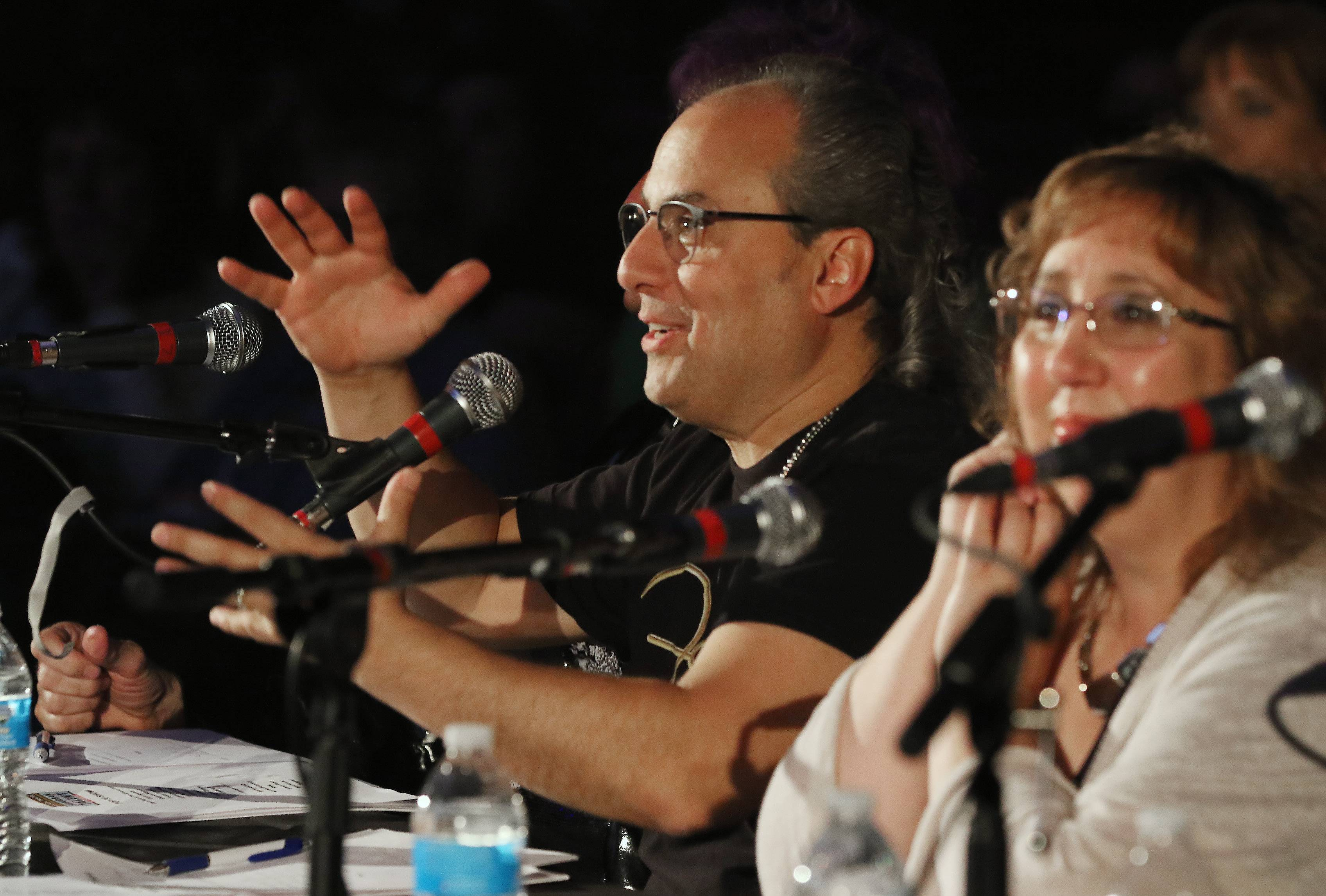 Ron Onesti and Barbara Vitello will return as judges for the Top 15 round of Suburban Chicago's Got Talent at the Arcada Theatre in St. Charles on Sunday, July 29.
