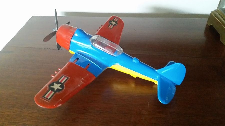 Collectors dive in for toy plane