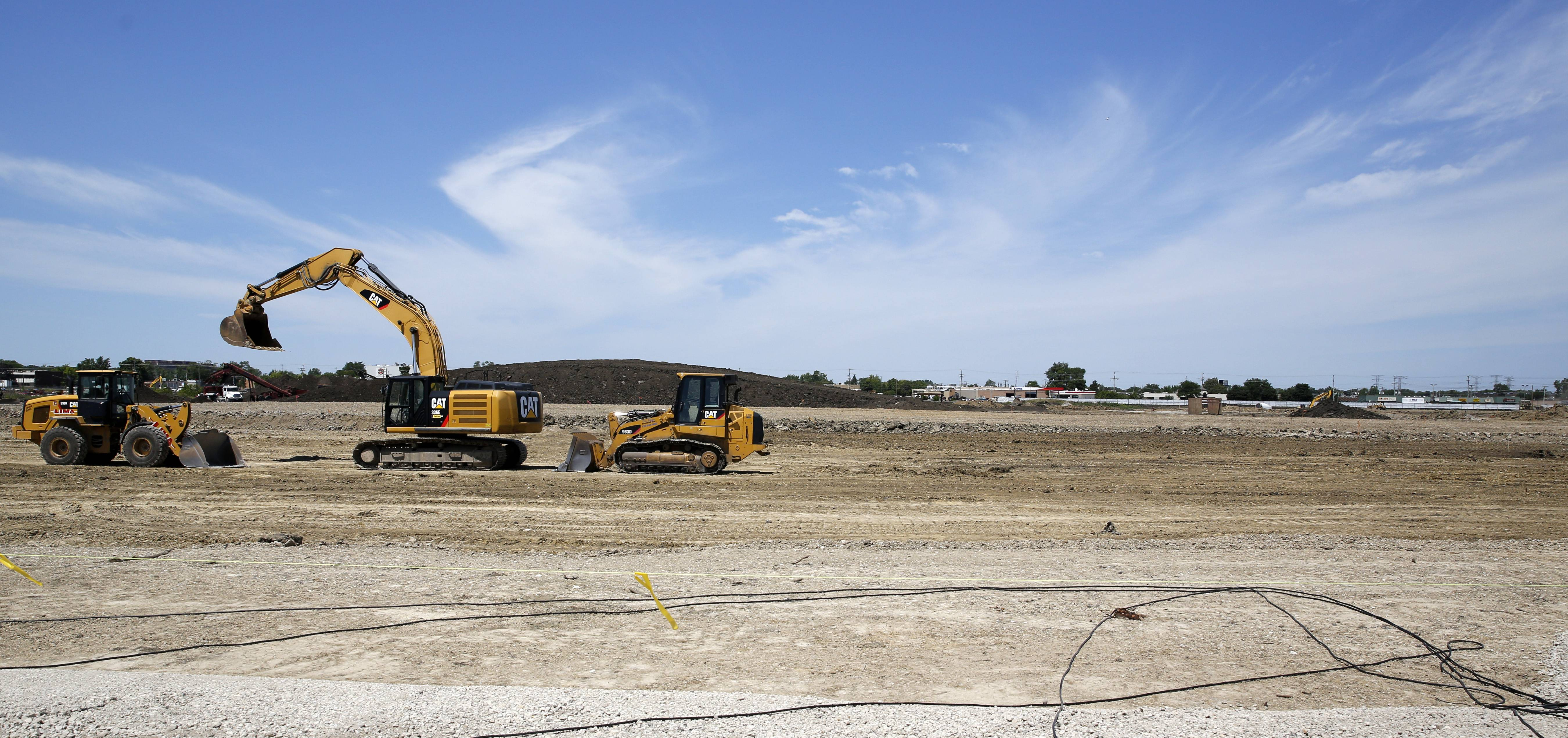 A new $1 billion technology park is being constructed on the former Busse Farm in Elk Grove Village.