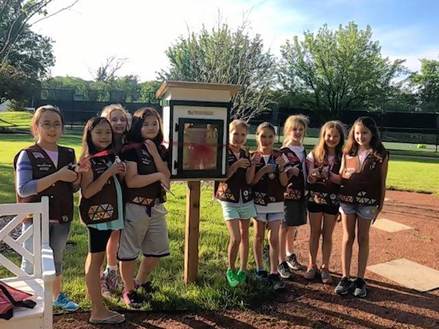 Girl Scouts bring Little Free Libraries to Lincolnshire parks