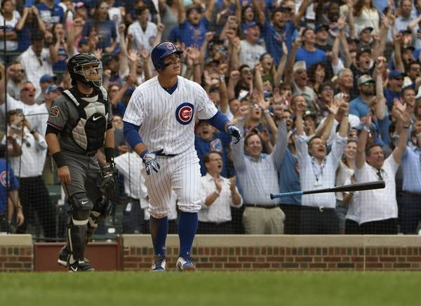 Ninth-inning homers by Bote and Rizzo lift Cubs