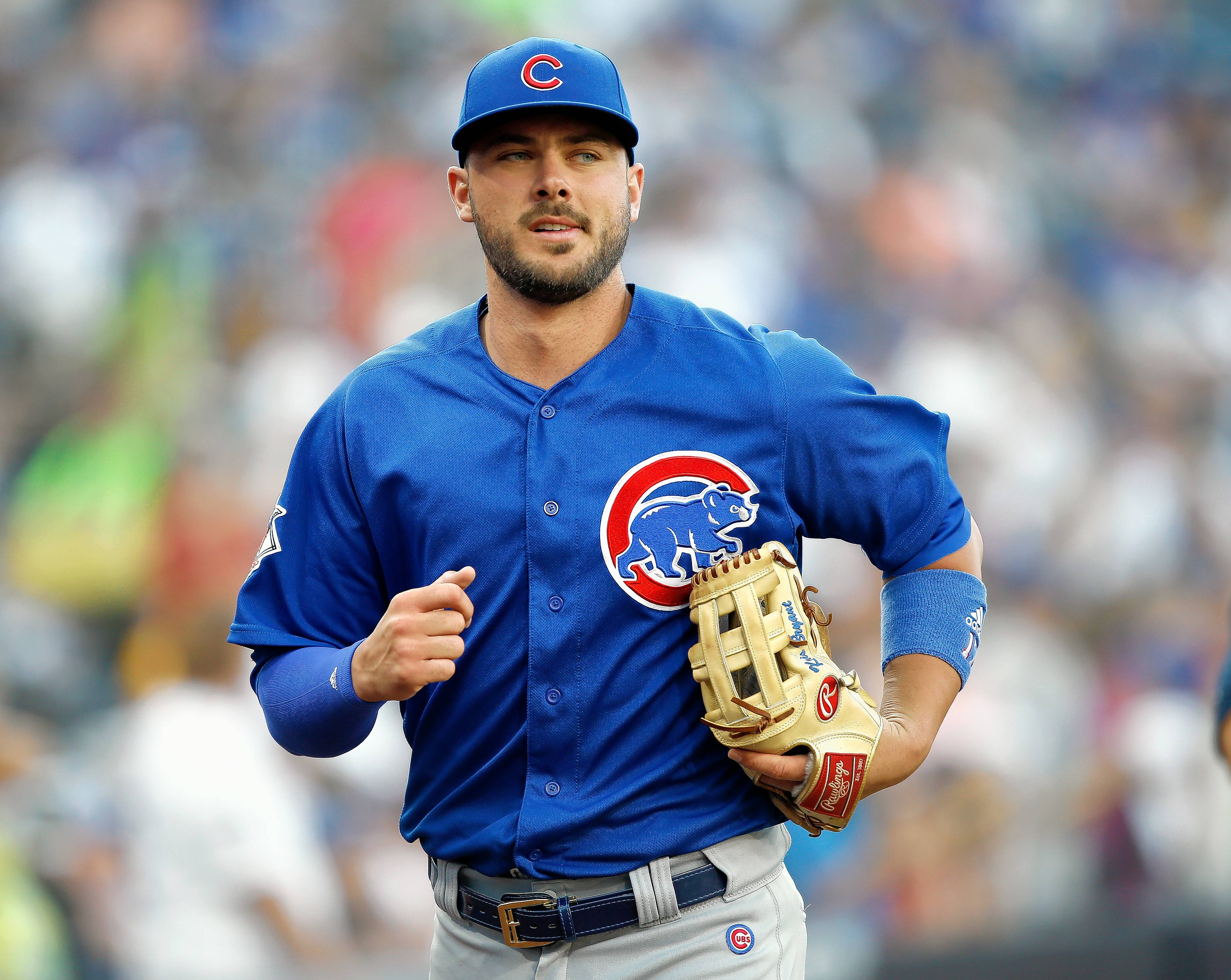 The Chicago Cubs placed third baseman Kris Bryant on the 10-day disabled list Thursday with a left-shoulder ailment.