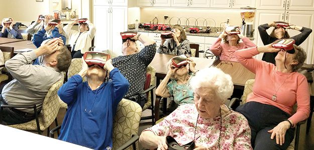 A new Arlington Heights Memorial Library outreach program for seniors utilizes Google Expeditions, a virtual reality experience, to give older adults the thrill of visiting virtually anywhere in the world.