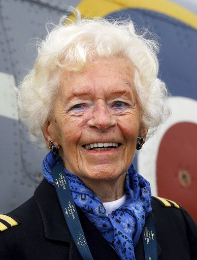Britain's RAF leads tributes to aviation pioneer Mary Ellis