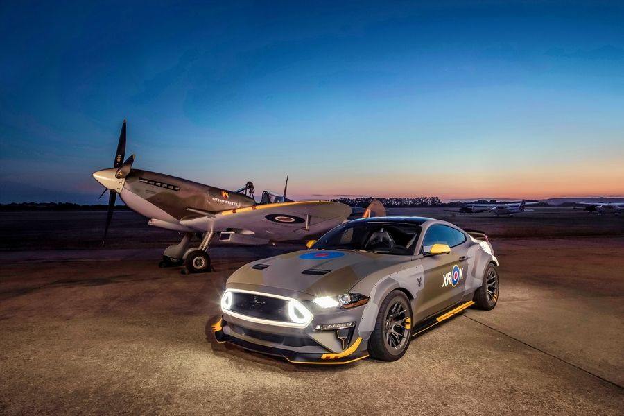 High Flying Mustang Pays Homage To Wwii Pilots