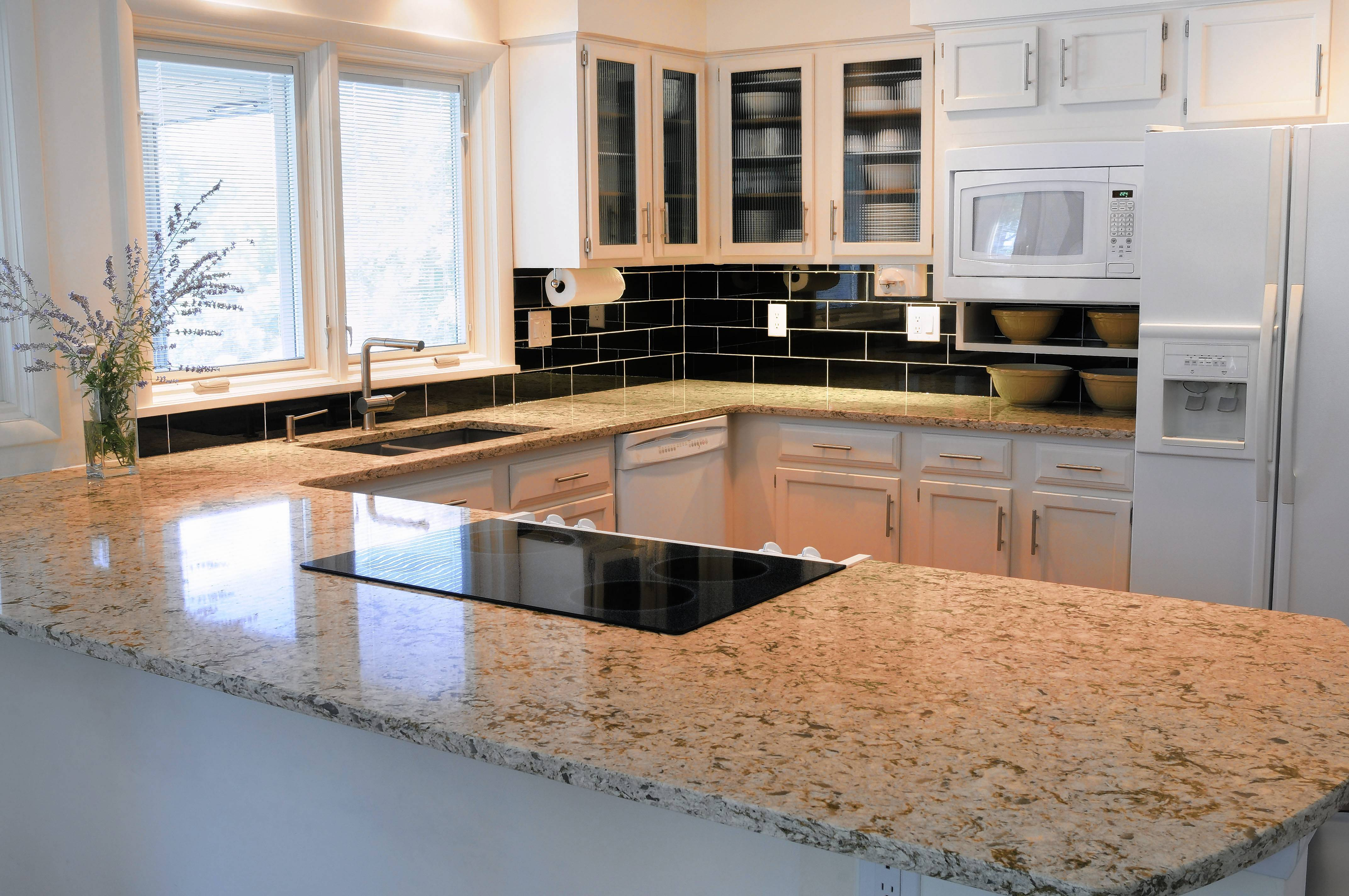 Quartz Countertops Are Maintenance Free. Unlike Granite, They Do Not  Require Repeated Applications Of