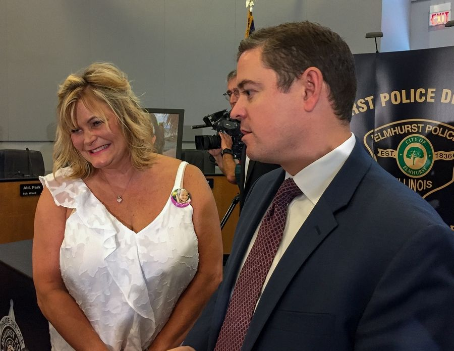 Shelly LeGere and state Sen. Chris Nybo of Elmhurst were two of the driving forces behind the passage and recent revision of the Annie LeGere Law.
