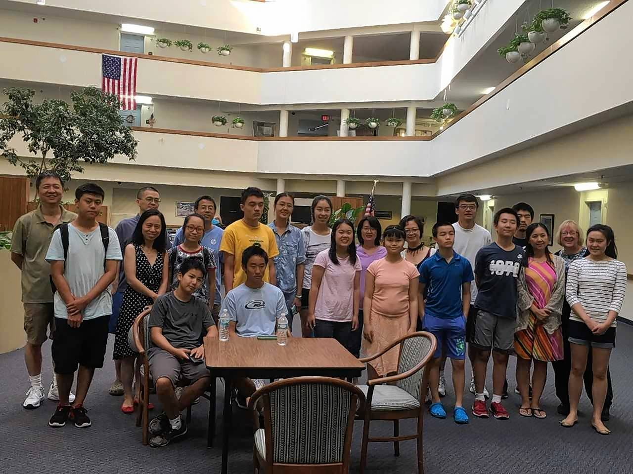 Every month or so, Team STEM For All, a group of more than 15 teens, meets up with senior residents of the Greencastle of Barrington apartments. Their goal? To help empower the seniors to use technology.
