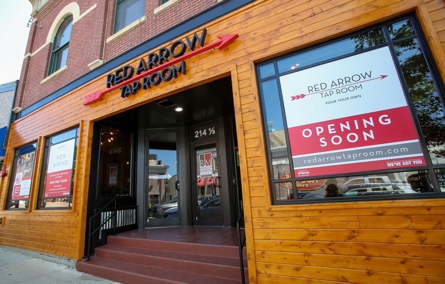 Red Arrow Tap Room in downtown Naperville redesigned the former space of Kuma's Asian Bistro and plans to open in the next few weeks at 216 S. Washington St.