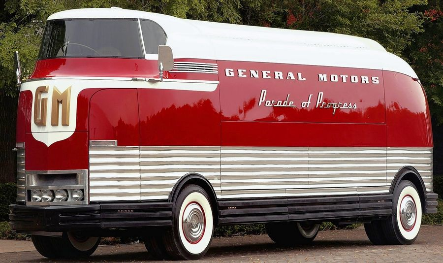 The 1953 General Motors Futurliner No. 10, which took seven years to restore, once crisscrossed the United States promoting GM's new vehicles and technology.