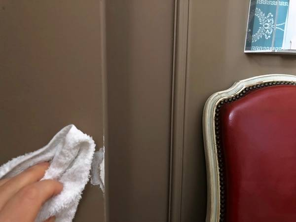 ways to deal with dreaded marks on painted walls
