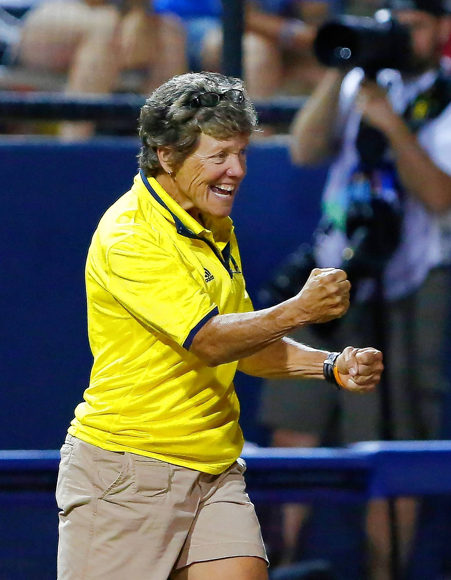 A high school cheerleader when the landmark Title IX legislation mandated that schools field sports teams for females, Carol Hutchins later sued Michigan State University to make sure the school adhered to the rules. Now the coach of the University of Michigan's women's softball team, Hutchins has more victories than any other softball coach and is a legend in the softball world.