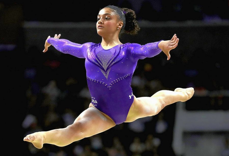 Olympic gold-medal gymnast Laurie Hernandez will speak at the Empowering Girls for Life conference in Rosemont.
