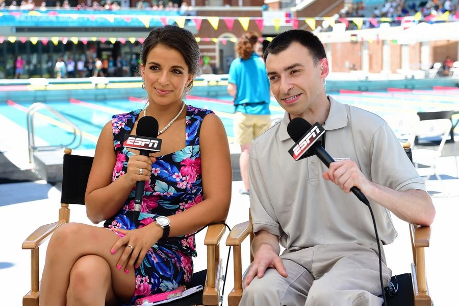 During the 2015 Special Olympics World Summer Games in Los Angeles, former medal-winner Victoria Arlen and Jason Benetti provided the commentary for ESPN. Arlen speaks next weekend during the Empowering Girls for Life event in Rosemont.