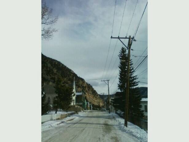 The Colorado town of Silver Plume, shown here in 2010, hasn't changed much in the last century. The streets are often empty in the winter, when the population shrinks to about 100 and sunlight doesn't reach half the town. Daily Herald sports writer Keith Reinhard disappeared here 30 years ago after telling people he was going to hike up a mountain.