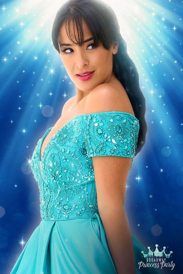"Elgin native Courtney Reed, the original Princess Jasmine in ""Aladdin"" on Broadway, appears in the ""Broadway Princess Party"" at the Improv Comedy Showcase in Schaumburg on Sunday, Aug. 19."