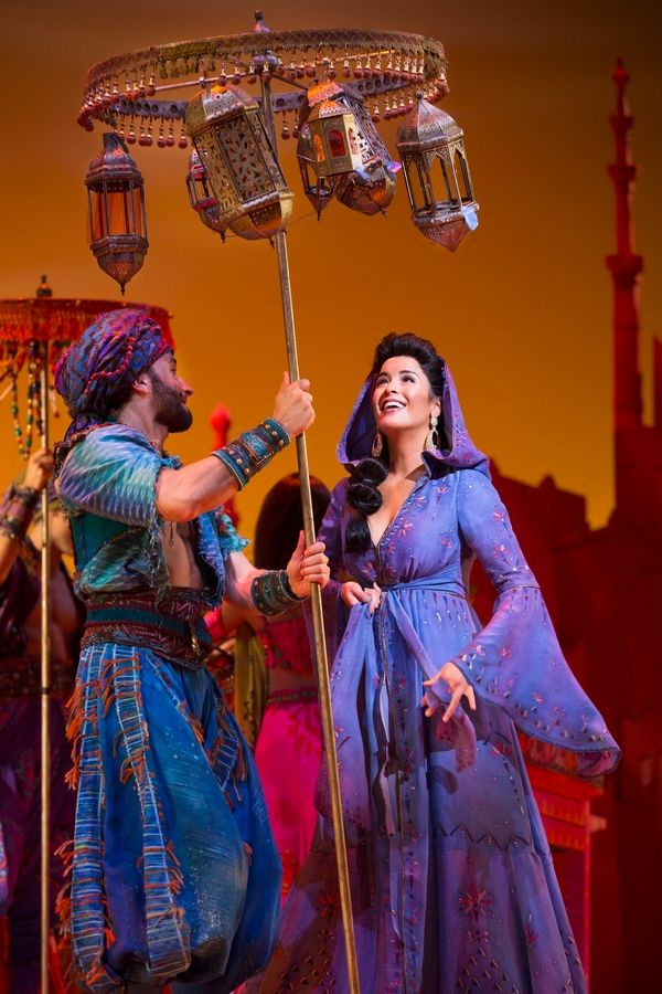 "Elgin native Courtney Reed starred as Princess Jasmine in the original Broadway cast of Disney's ""Aladdin"" on Broadway. She also stars in the ""Broadway Princess Party"" at the Improv Comedy Showcase in Schaumburg on Sunday, Aug. 19."