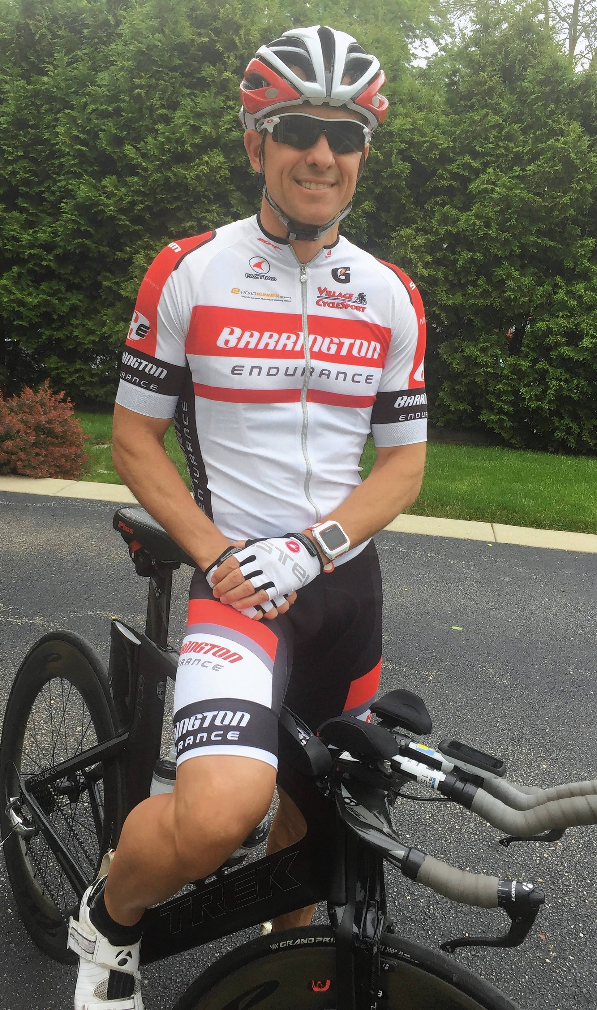Ted Thome has participated in and volunteered for the annual Barrington Honor Ride and Run that benefits miliary veterans. Thome, 47, of Barrington, is a West Point graduate and an endurance athlete who served in the Army from 1993 to 1998.