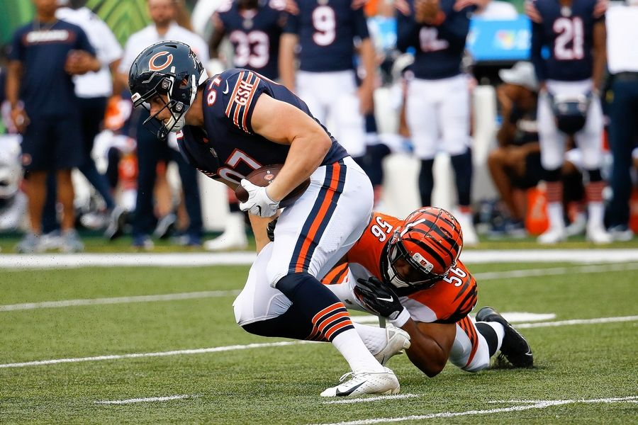 58a99f6e5f0 Adam Shaheen looked like the guy the Bears thought they were getting in the  second round