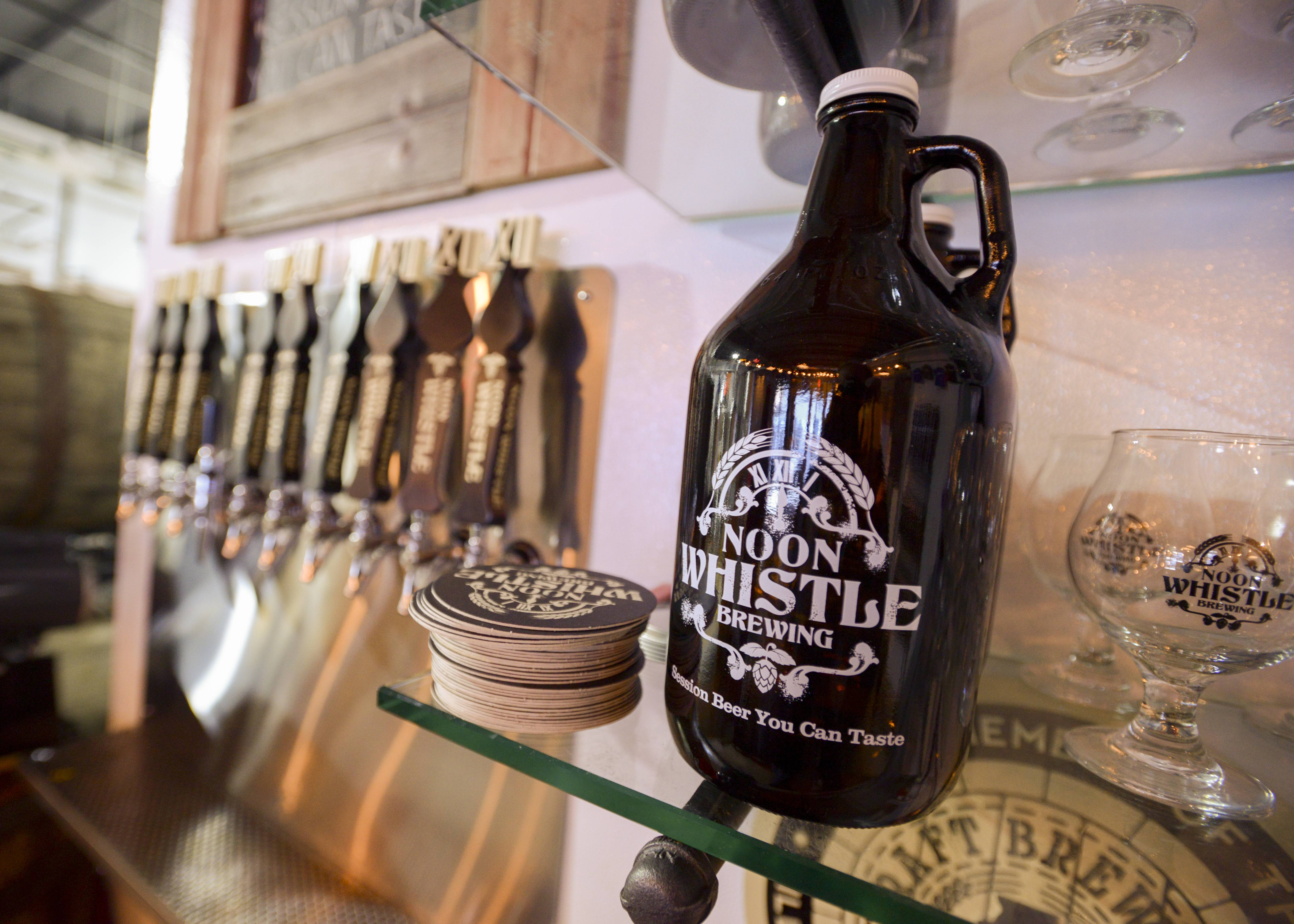 Selling specialty craft beers in Lombard since late 2014, Noon Whistle Brewing now wants to open a second location, this one in Naperville.
