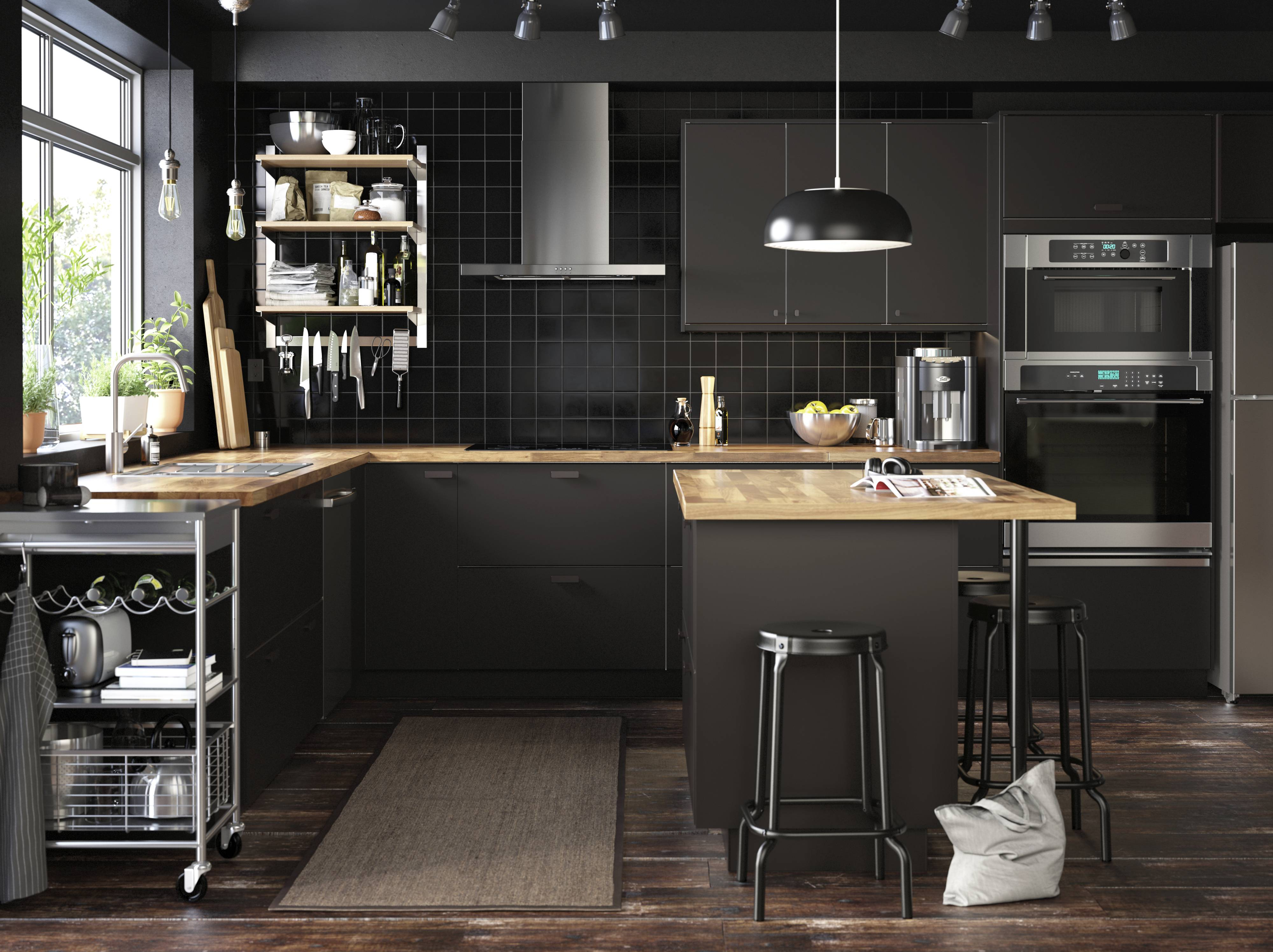 A planner hired through IKEA designed this kitchen. Be realistic about how long installing a new kitchen will take, designers say.