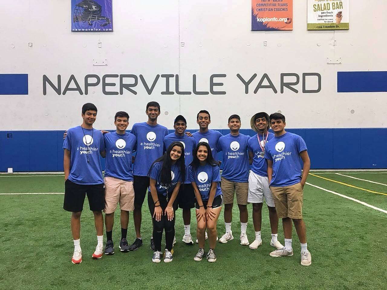 "Aurora and Naperville teens who run a nonprofit group called Meaningful Summers are hosting a block party Tuesday night as part of their ""A Healthier YOUth"" campaign."
