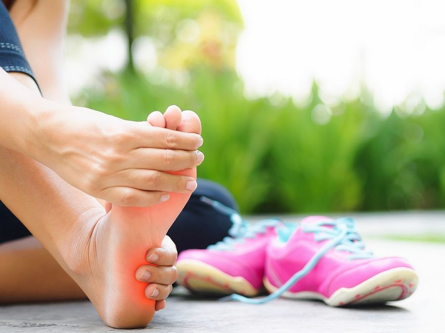 00b46acabc Stretching can help alleviate pain of plantar fasciitis