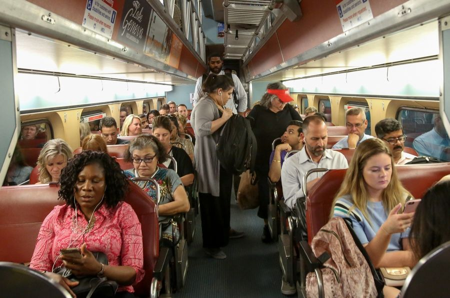 Regular commuters on Metra don't appreciate grappling with drunken revelers. The railroad says it bans alcohol entirely or after 7 p.m. during special events in Chicago.