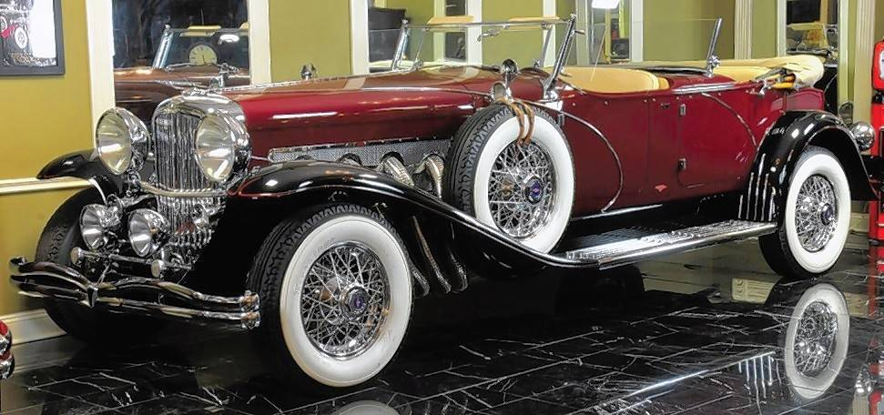 One of the rare cars that will be on display at the 10th annual Grand Dominion car show is this Duesenberg II: Dual Crown Phaeton. The show will be from 11 a.m. to 3 p.m. Sunday, Aug. 19, at Grand Dominion, 3555 Grand Dominion Circle, Mundelein.
