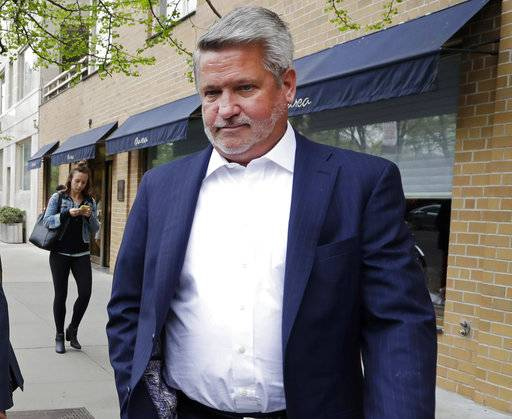 "FILE - In this April 24, 2017, file photo, then-Fox News co-president Bill Shine, leaves a New York restaurant. For years Shine carried out Roger Ailes' orders, earning himself the nicknamed ""the Butler� at Fox. Now, Shine is serving the same role under President Donald Trump. Shine has yet to select a permanent office or unpack his stuff. But he has been putting his mark on the West Wing"