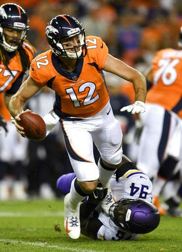 Paxton Lynch demoted, Chad Kelly promoted in Denver