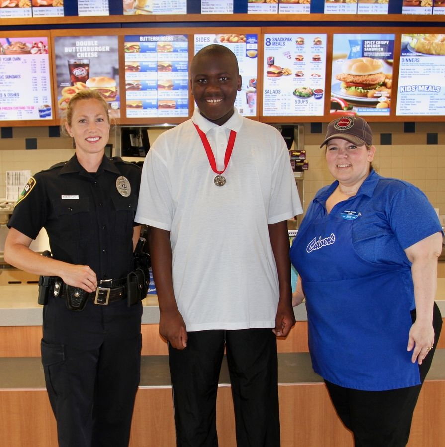 "Special Olympians will join local police officers during the ""ButterBurgers & Badges"" fundraiser hosted by Culver's of Buffalo Grove Aug. 30. Owner Kevin Weasler notes his restaurant will donate $1 for every Concrete Mixer sold between 4-8 p.m."