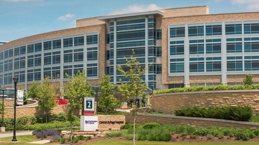 Northwestern Medicine Central DuPage Hospital ranked among