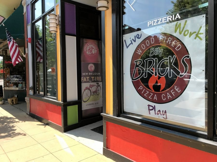 Bricks Wood Fired Pizza, a new pizza place at 64 S. Grove Ave., Elgin, is expected to open in 45 to 60 days.