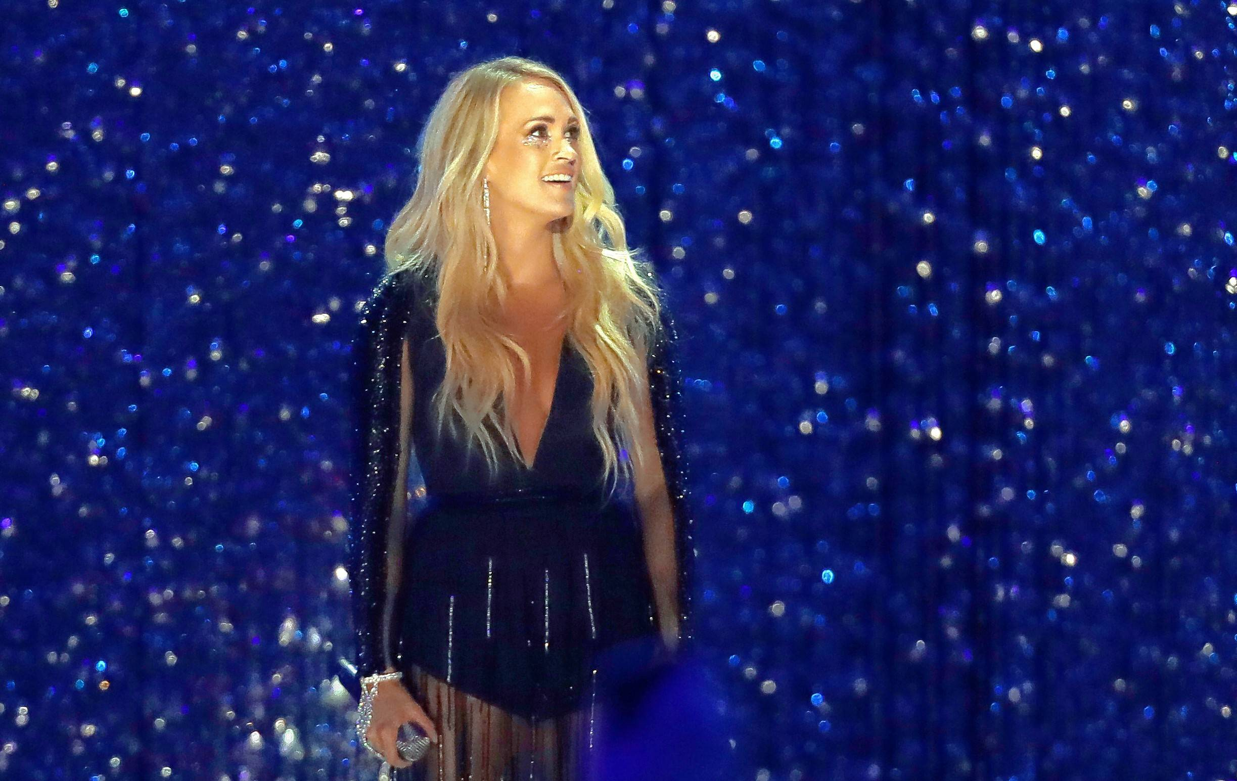 "Carrie Underwood brings ""The Cry Pretty Tour 360"" to the United Center in Chicago at 7 p.m. Tuesday, Oct. 29."