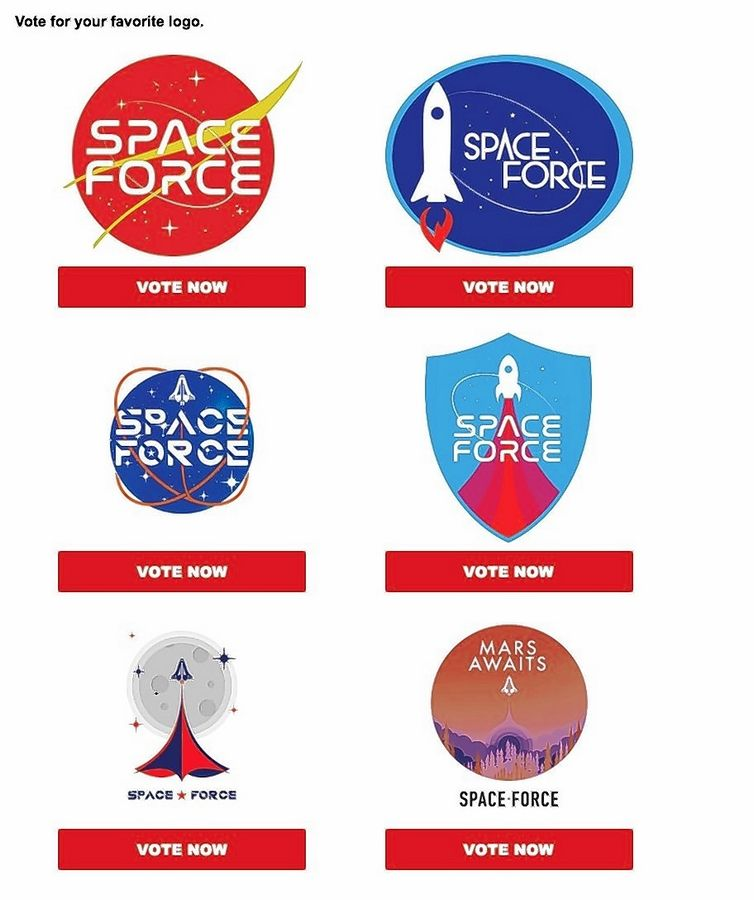 Constable: Could Space Force save us from antiquated military logos?