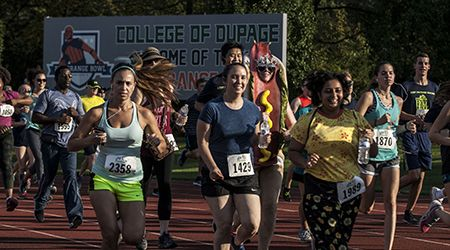 College of DuPage's 2018 Food Truck Rally and Sunset 5K will raise funds for scholarships.