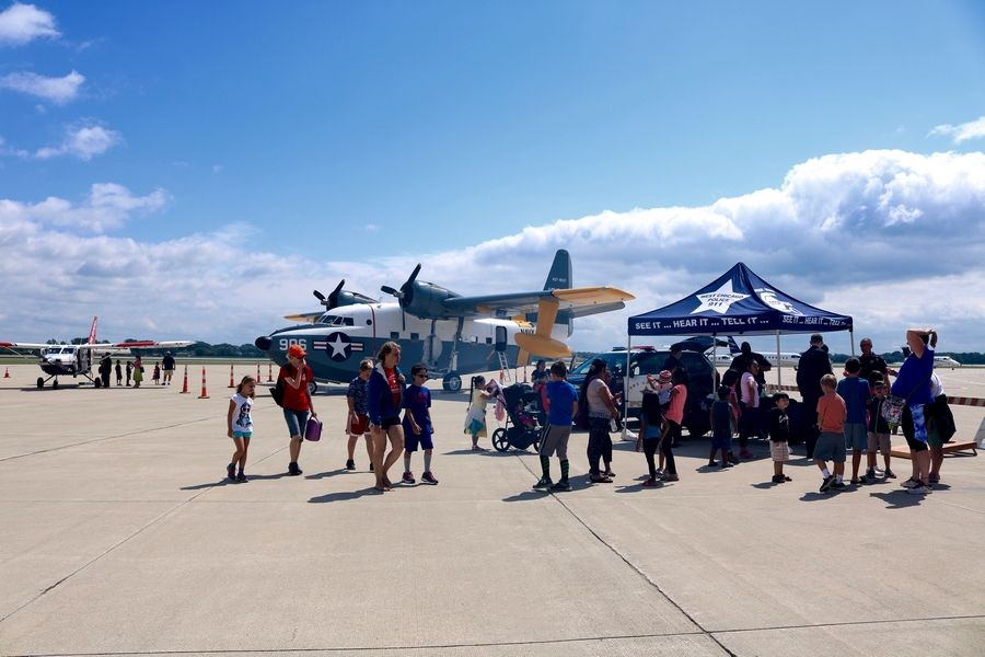 Sign up for the second annual Back-to-School Celebration, an educational and fun-filled day revolving around aviation, on Tuesday, Aug. 28.