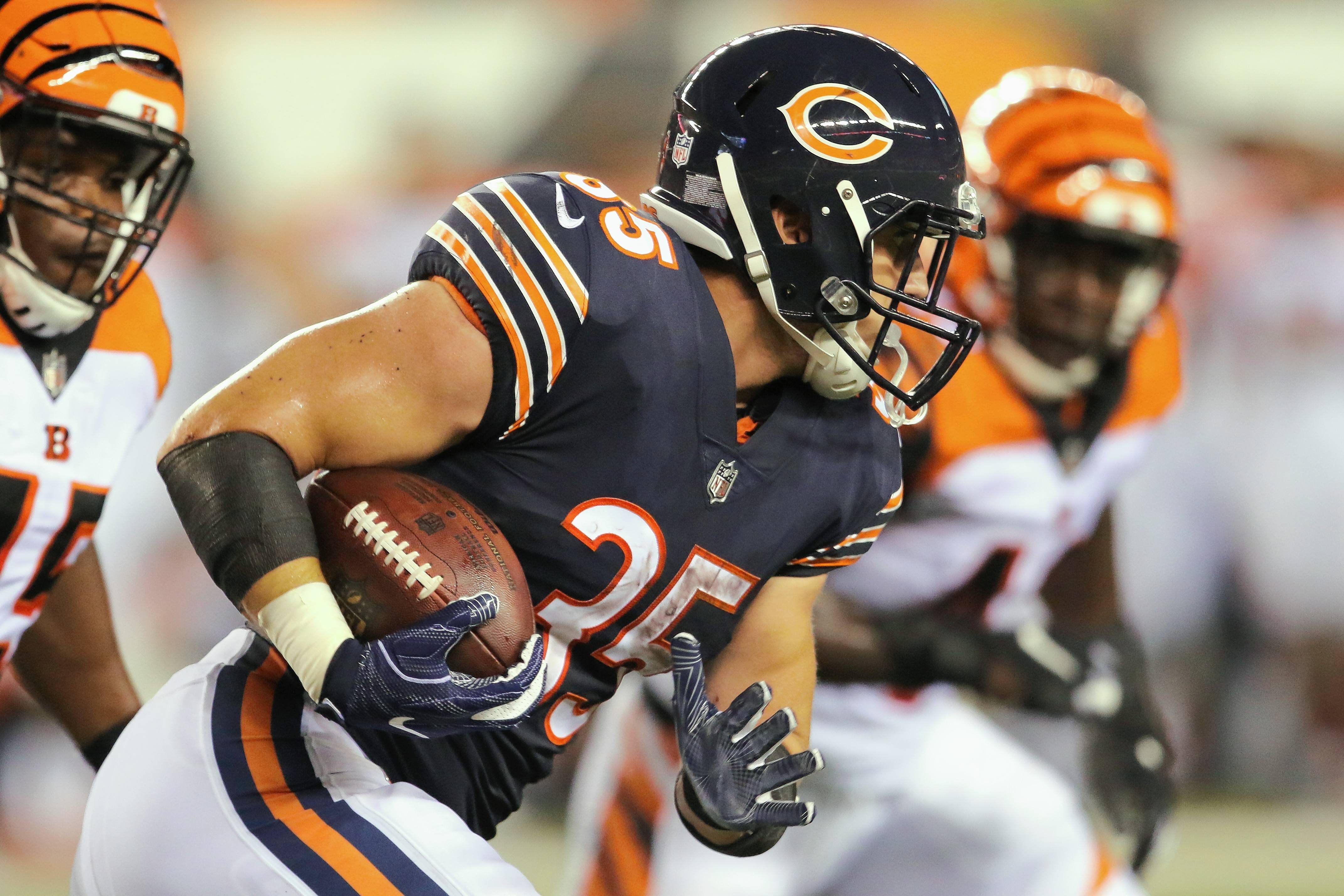 Undrafted rookie RB Ryan Nall had a 69-yard run against the Bengals in the Chicago Bears' second preseason game. But he knows one solid run won't earn him a spot on the 53-man roster.